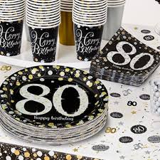 80th Birthday Party Decorations 80th Birthday Party Themes Party Delights