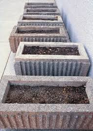 Rectangular Terracotta Planters by Best 25 Concrete Planters Ideas Only On Pinterest Concrete Pots