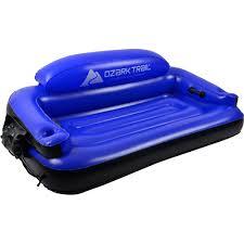 boats u0026 water sports walmart com ozark trail kerr inflatable river sofa walmart com