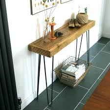 hairpin leg console table hairpin console table rustic console table hairpin vintage
