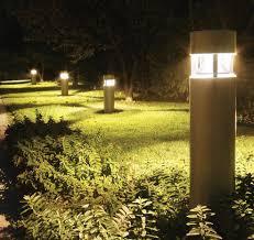 concrete bollard lighting fixtures walkway lighting bollards led community and security lighting