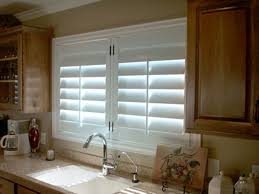 Kitchen Window Shutters Interior Kitchen Window Blinds Pretty Kitchen Window Shutters Interior