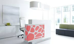 Illuminated Reception Desk Desk Wonderful Metal Reception Desk Desk Ideas Desk Inspirations