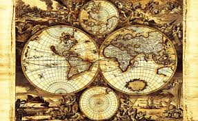 world map vintage wall paper mural buy at abposters com world map vintage wallpaper mural
