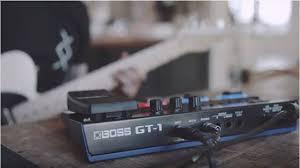 boss announces gt 1 guitar effects processor worship guitar magazine