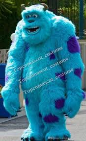 professional sully mascot head costume halloween christmas