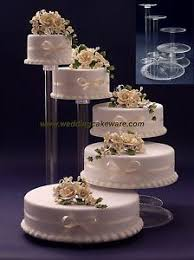 5 tier cake stand 5 tier cascading wedding cake stand stands set ebay