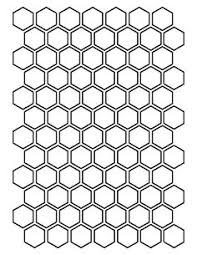 2 5 hexagon pattern use the printable outline for crafts