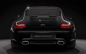porsche coupe black 0 to 62mph official 2012 porsche 911 997 black edition u s