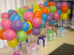 colourful topiary balloons party ideas pinterest