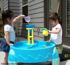 Toddler Water Table Toddler Toys Water Tables And Sand Tables Are Fun And Educational