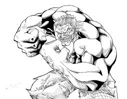 the real red hulk by kingvego on deviantart