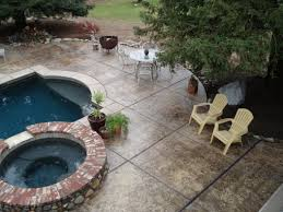 Fire Pit Mat For Wood Deck by Fire Pit Build Over Existing Concrete Deck Am I Headed For