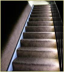 led strip lights for stairs led strip stair lights home design ideas
