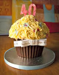 cupcake birthday cake creative 40th birthday cake ideas crafty morning