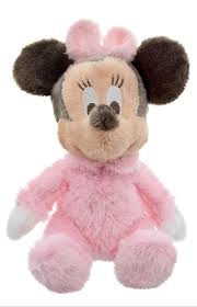 plush baby minnie mouse plush rattle