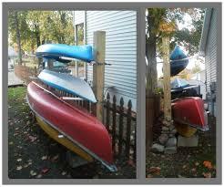 Free Standing Kayak Storage Rack Plans by Kayak Canoe Rack Wood Storage