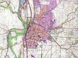 Dayton Ohio Map Ohio Maps Perry Castañeda Map Collection Ut Library Online