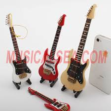 miniature electric guitar ornament craft for miniature