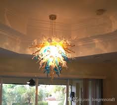 Tropical Chandelier Lighting Discount Tropical Multi Color Sunshine Lamps Murano Glass Stems