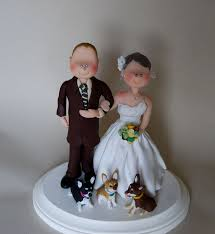 wedding cake topper custom made by little people wedding items