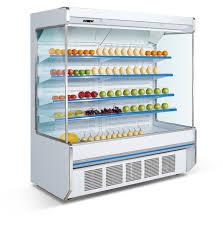 china manufacture open refrigerator display showcase china