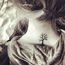 16 tree of tattoos on neck