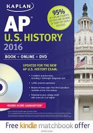 kaplan ap u s history 2016 book dvd krista dornbush