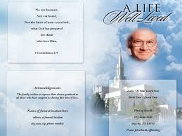 funeral program covers cloud cover funeral program template funeral program template