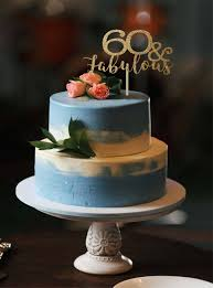 60 and fabulous cake topper 60 birthday cake topper 60th