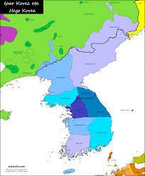 Korea Map Asia by Korea Carte Linguistique Linguistic Map