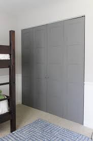 How To Build Bi Fold Closet Doors Diy Craftsman Style Closet Doors Shades Of Blue Interiors