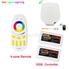 led strip lights wifi controller aliexpress com buy 2x 2 4g rgbw controller mi light wifi