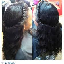 back hair sewing hair styles best 25 halo braid with weave ideas on pinterest halo braid