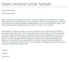 salary request letter format best resume gallery