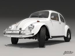 volkswagen beetle studio max 3d beetle 1300 1963 c4d