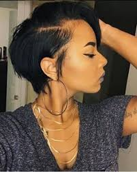 short haircuts when hair grows low on neck short bob wigs for black women african american wigs short bob