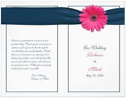 Wedding Programs With Ribbon Wedding Program Ideas Dream Wedding Ideas
