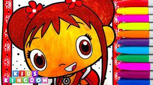 ni hao kai lan coloring book pages episode crayola color