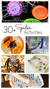 spider activities for preschoolers pre k pages