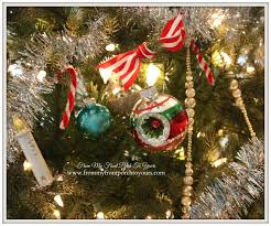 2014 Christmas Tree Ornaments From My Front Porch To Yours Farmhouse Vintage Christmas Living Room