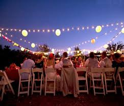 Pictures Of Backyard Wedding Receptions Summer Outdoor Wedding Decorations