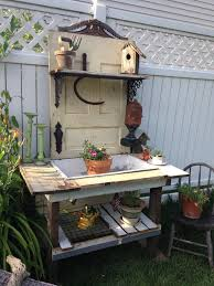 Outdoor Potting Bench With Sink 188 Best Potting Bench Ideas Images On Pinterest Potting Tables