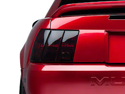 99 04 mustang sequential tail light kit american muscle graphics mustang smoked brake light tint kit 26072