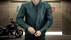 padded motorcycle jacket xelement executioner mens black racer leather jacket at leatherup