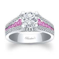 pink wedding rings barkev s pink sapphire engagement ring 7944lps