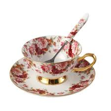 tea cup set bone china ceramic tea cup coffee cup set coffee cup with