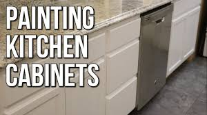 can mobile home kitchen cabinets be painted finish painting the kitchen cabinets budget mobile home remodel 31