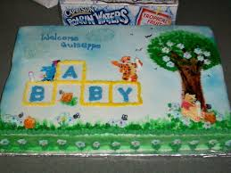 winnie the pooh baby shower cake 49 best baby shower girl images on baby shower cakes
