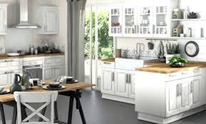 cuisine rustique blanche daccoration cuisine rustique lapeyre 97 montreuil deco cuisine